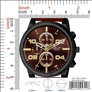 Other - M Milano Expressions Rubber Strap Watch
